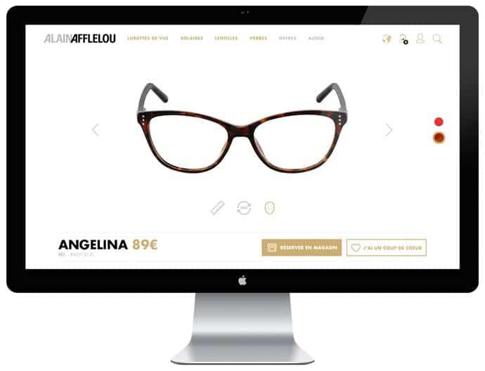 Webdesign Alain Afflelou