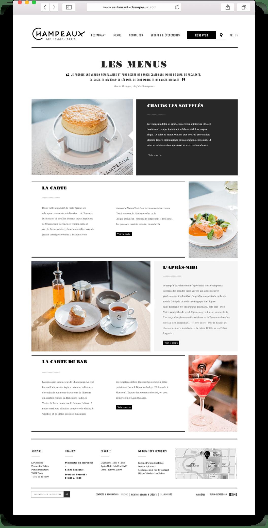 Champeaux design d'interface