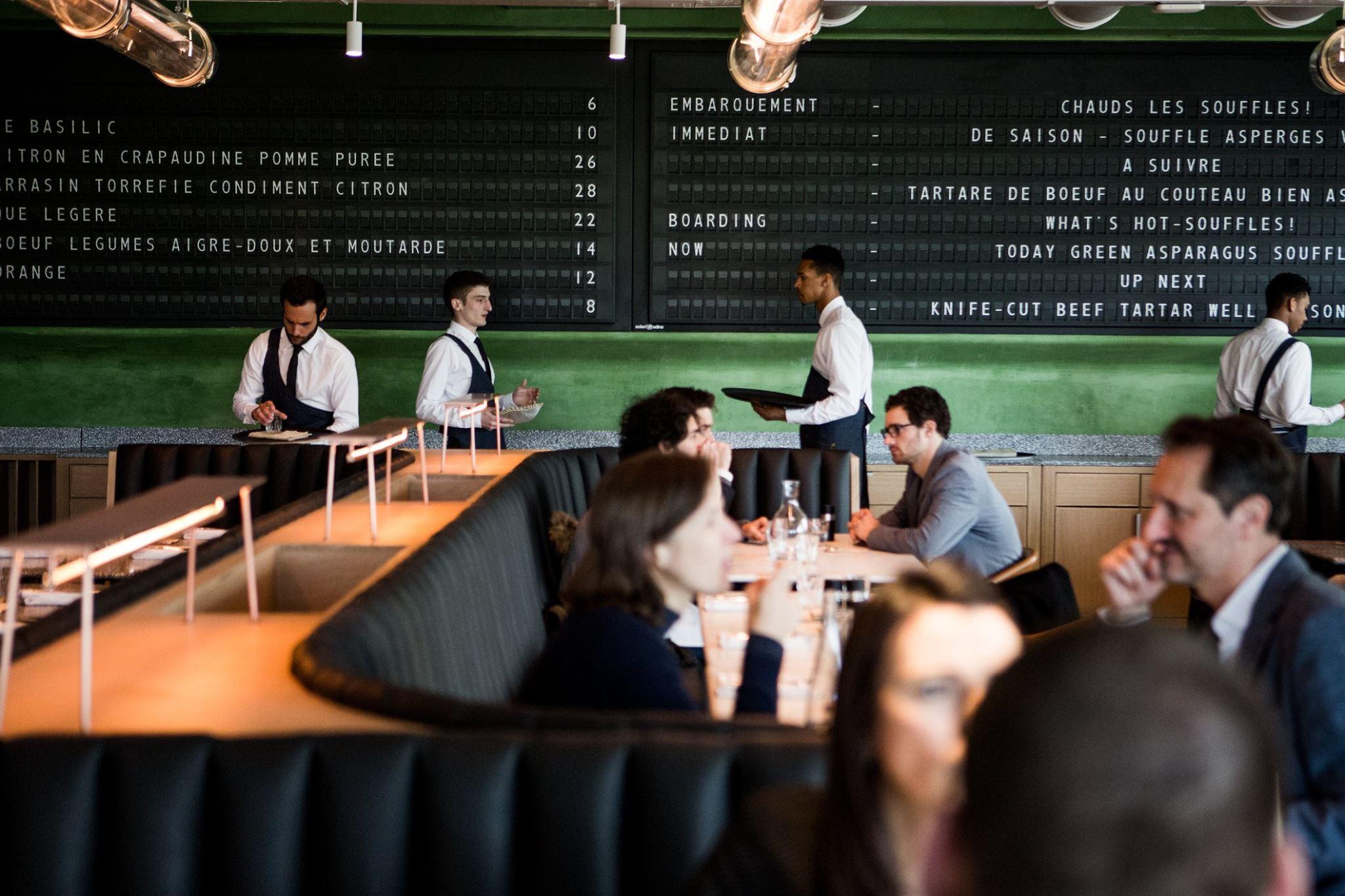 Restaurant Champeaux, Gastronomie