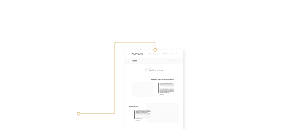 Wireframe UX Design Luxe 2