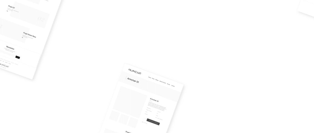 Wireframe, conception d'interface UX design premium 2