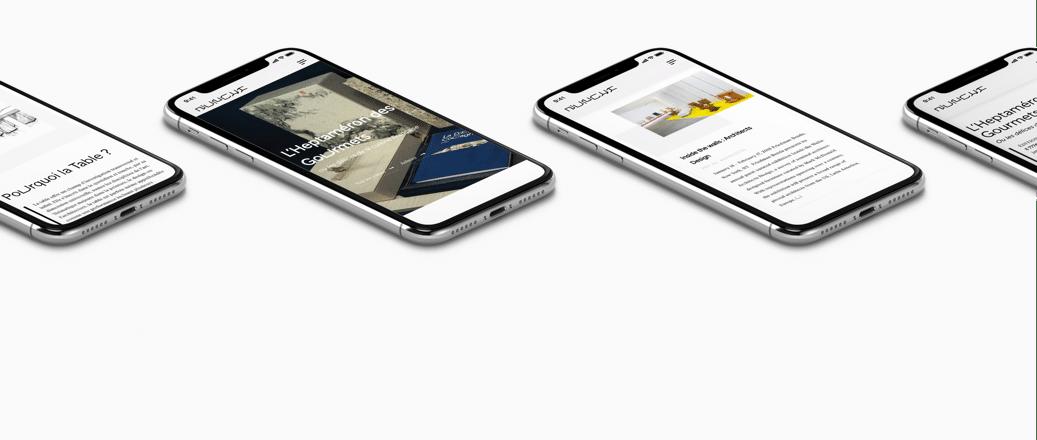 Galerie Nunchi responsive design