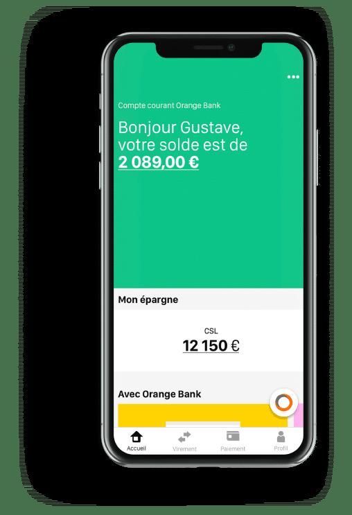 iPhone X - IA Orange Bank