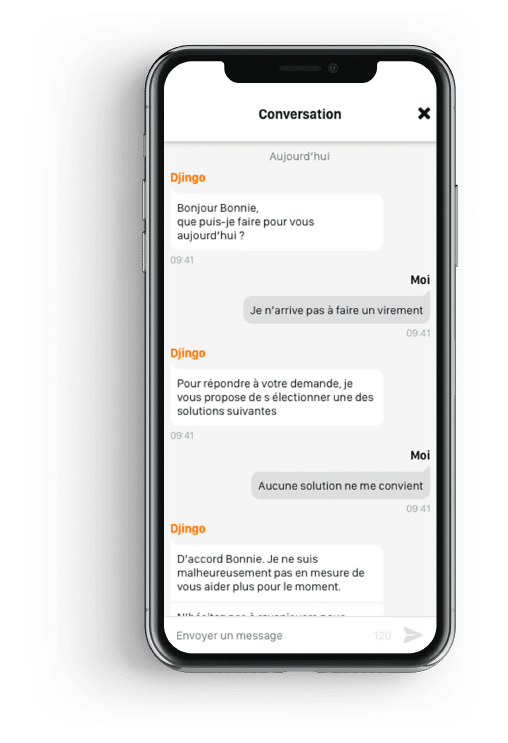 iPhone X - IA Orange Bank 2