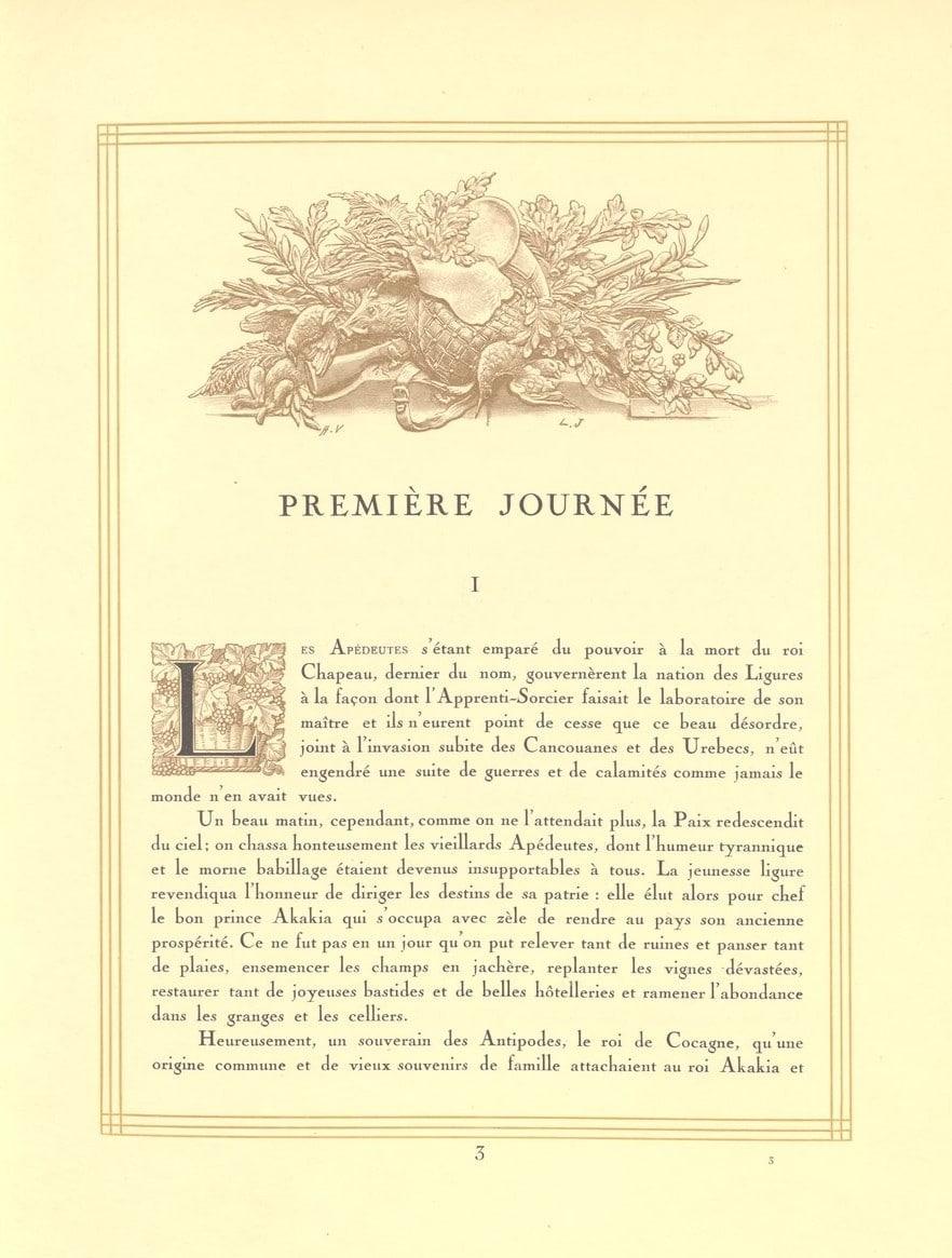 L'Heptaméron des Gourmets - édition originale