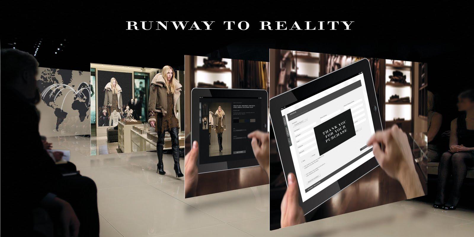 Burberry-Social-media-strategie-social-wall
