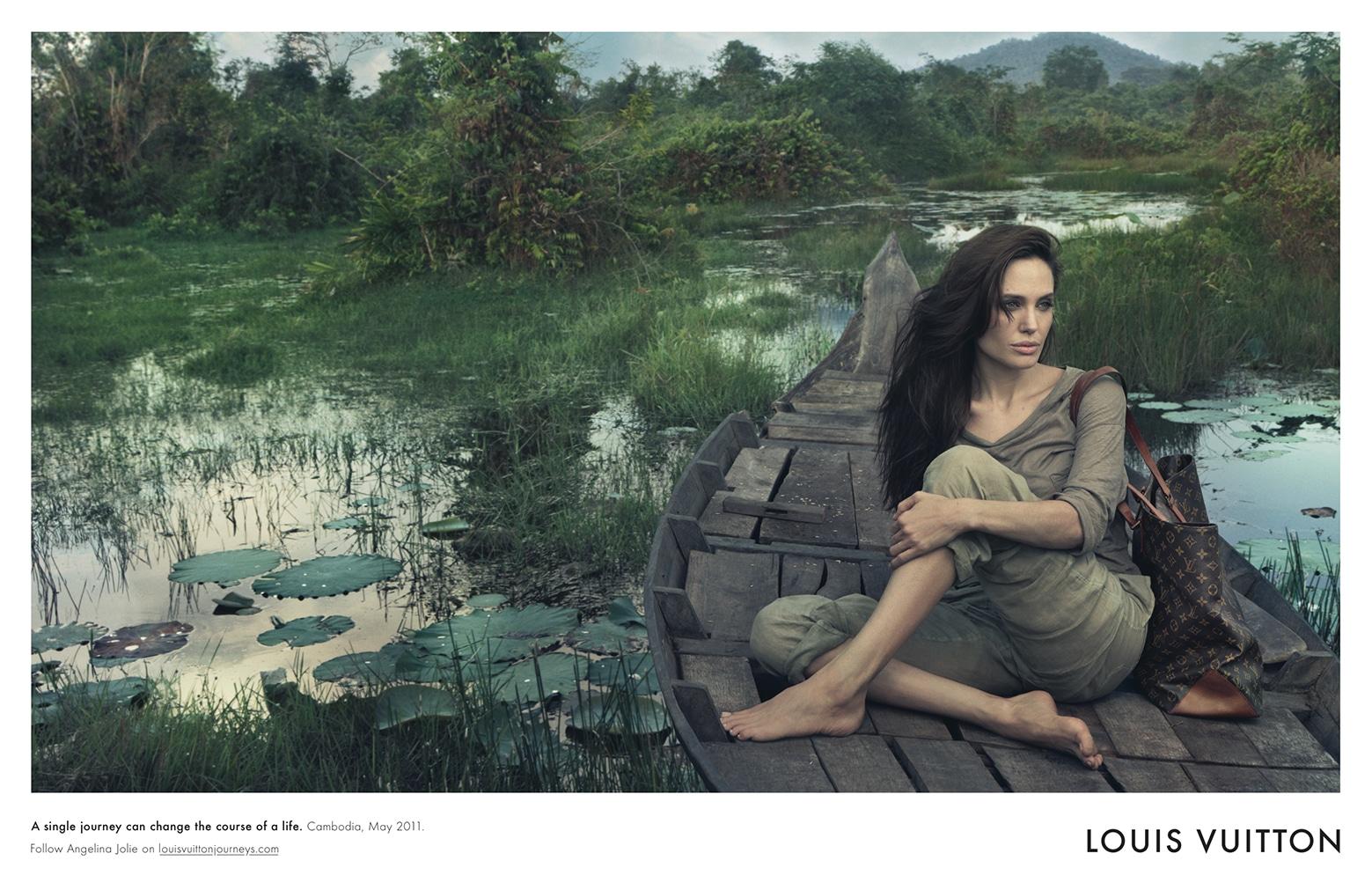 Angelina Jolie « Un seul voyage peut changer le cours d'une vie »