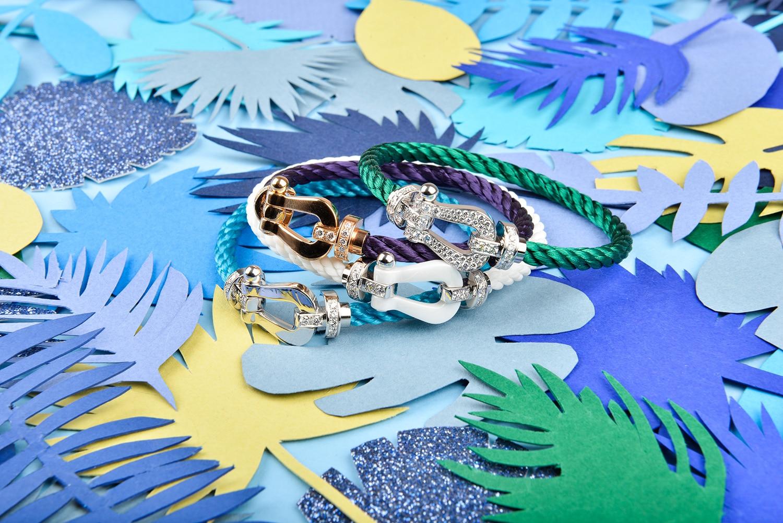 La maison acquise en 1995 par LVMH offre désormais la possibilité de personnaliser son bracelet Force 10 grâce à l'Atelier Fred.